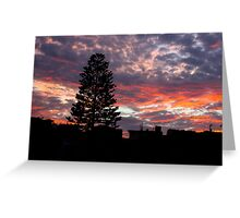 Electric Skies Greeting Card