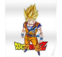 Dragon Ball Z - Super Saiyan Goku Poster