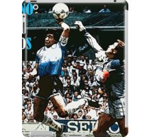 Maradona MANO DE D10S iPad Case/Skin
