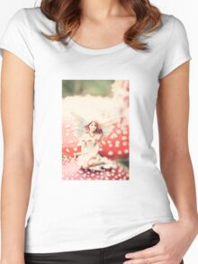 The Forest Dwellers #1 Women's Fitted Scoop T-Shirt