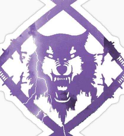 Purple Lightning HollowSquad Sticker