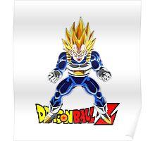 Dragon Ball Z - Super Saiyan Vegeta Poster