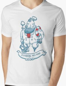 Swabian Captain Mens V-Neck T-Shirt