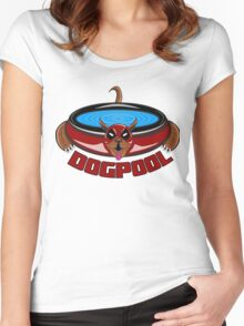 DOGPOOL Women's Fitted Scoop T-Shirt
