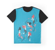 Tattooed Mermaids  Graphic T-Shirt