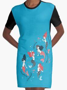 Tattooed Mermaids  Graphic T-Shirt Dress