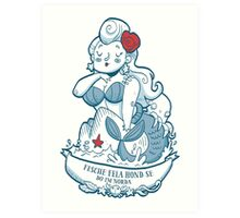 Swabian Mermaid Art Print