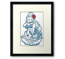 Swabian Mermaid Framed Print