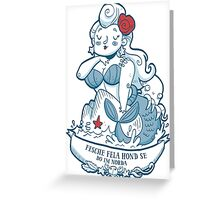 Swabian Mermaid Greeting Card