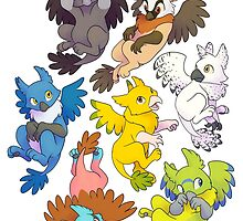 Griffons! by Atarial