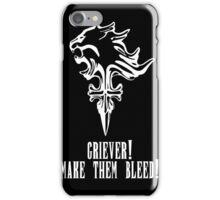 Final Fantasy - Griever Make Them Bleed iPhone Case/Skin