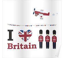 I love Britain Poster