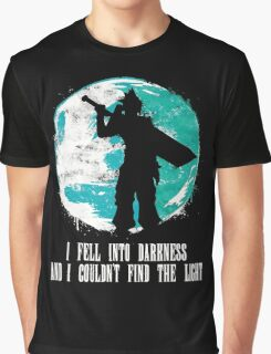 Final Fantasy - I Fell Into Darkness And I Couldn't Find The Light Graphic T-Shirt