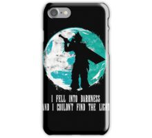 Final Fantasy - I Fell Into Darkness And I Couldn't Find The Light iPhone Case/Skin