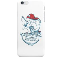 Swabian Fisher-Fish iPhone Case/Skin