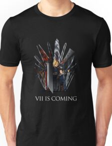 Final Fantasy - Vii Is Coming Unisex T-Shirt
