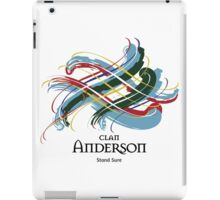 Clan Anderson  iPad Case/Skin