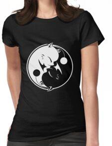 Final Fantasy - Yin Yang Mog Womens Fitted T-Shirt