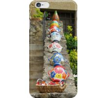 Pots on a wall iPhone Case/Skin