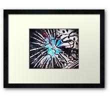 abstract firework  Framed Print