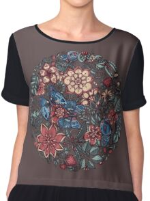 Circle of Friends in Colour Chiffon Top