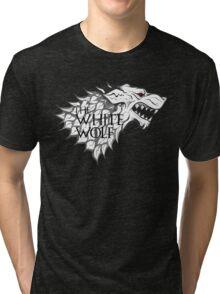 The White Wolf  Tri-blend T-Shirt