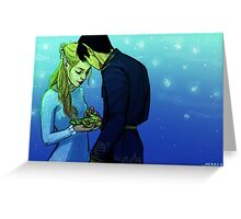 Starfall Greeting Card