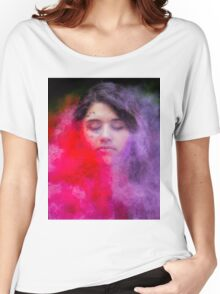Color Clouds  Women's Relaxed Fit T-Shirt