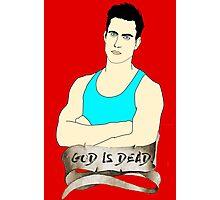 God is Dead, Bro Photographic Print