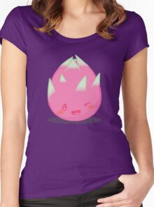 Cute Tropical Fruits - Dragon Fruit Women's Fitted Scoop T-Shirt
