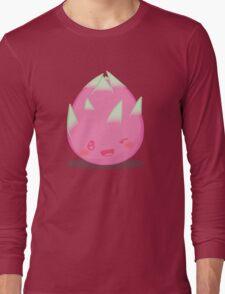 Cute Tropical Fruits - Dragon Fruit Long Sleeve T-Shirt