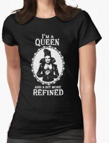 Regina Mills. Evil Queen OUAT. Lana Parrilla. Womens Fitted T-Shirt