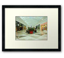 New Arcade at the Shopping Mall - Werribee Plaza, Vic. Australia Framed Print