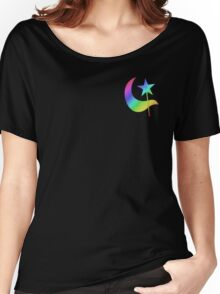 MLP - Cutie Mark Rainbow Special - Trixie Lulamoon V2 Women's Relaxed Fit T-Shirt