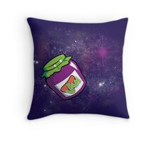 Jam in the Space Throw Pillow