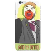 God is Dead, Bozo iPhone Case/Skin
