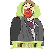 God is Dead, Bozo Photographic Print