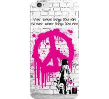 The Bondi Collection Peace iPhone Case/Skin