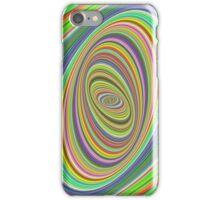 Psychedelic ellipse iPhone Case/Skin