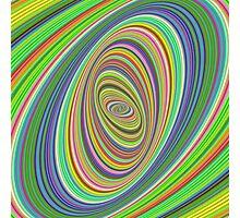 Psychedelic ellipse Photographic Print