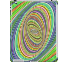 Psychedelic ellipse iPad Case/Skin