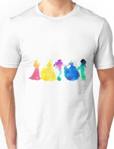 Princesses Inspired Silhouette Unisex T-Shirt