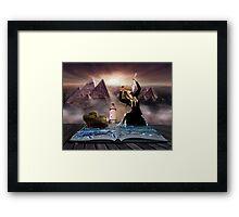 Literary Imagination Framed Print