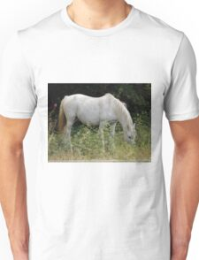 The white horse Unisex T-Shirt