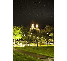 Landmark Nightlight  Photographic Print