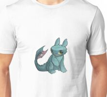 Toothless in Marker Unisex T-Shirt