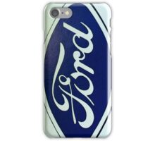 Old Retro Ford Logo iPhone Case/Skin
