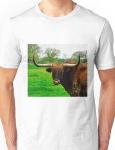 Texas Longhorn Steer Unisex T-Shirt