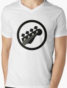 Black Bass Mens V-Neck T-Shirt
