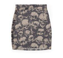 Grunge Skulls Mini Skirt